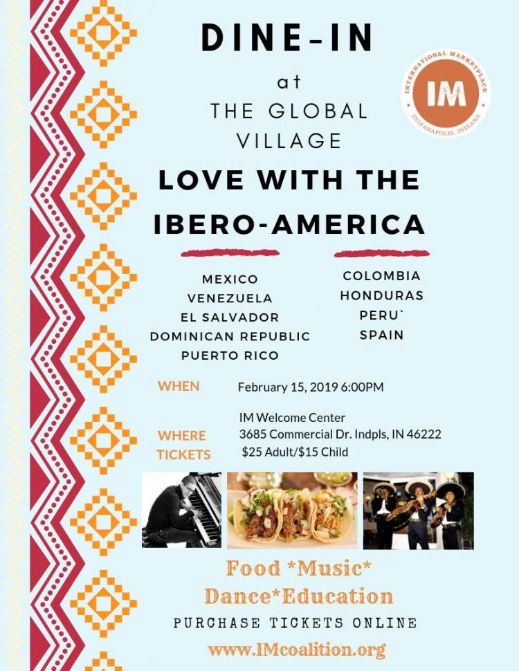 Dine-In 'Love With The Ibero-America'