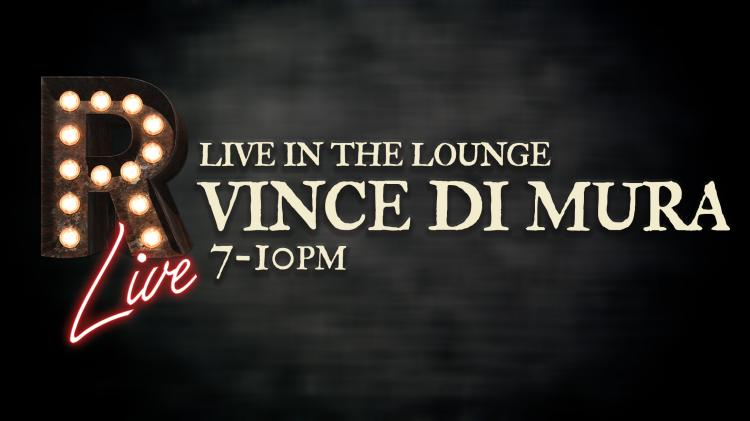 Live in the Lounge: Vince Di Mura