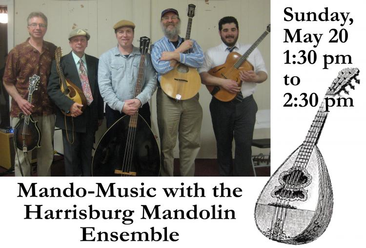 Mando-Music with the Harrisburg Mandolin Ensemble