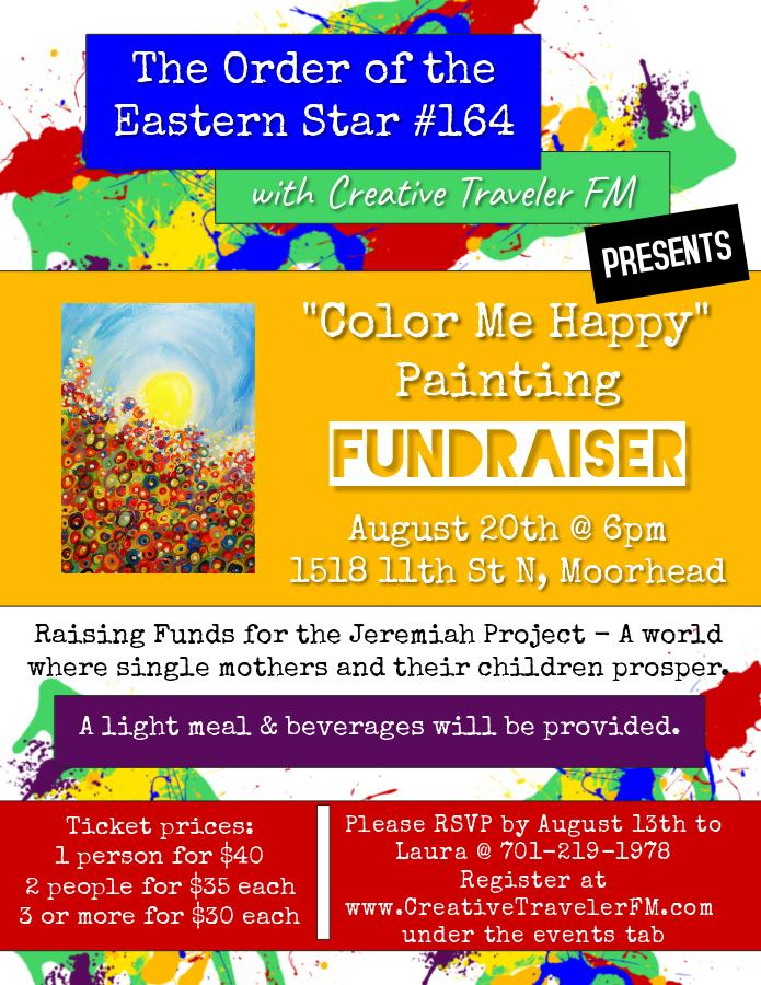 Color Me Happy Painting Party