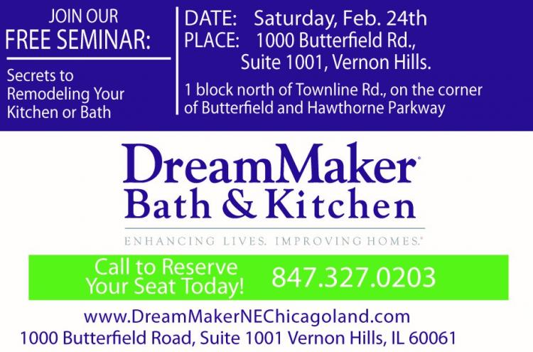 FREE SEMINAR - KITCHEN and BATH REMODELING SECRETS