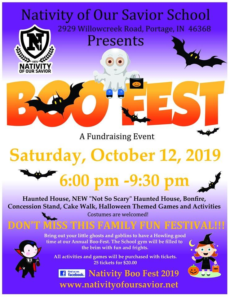 Nativity Boo Fest 2019