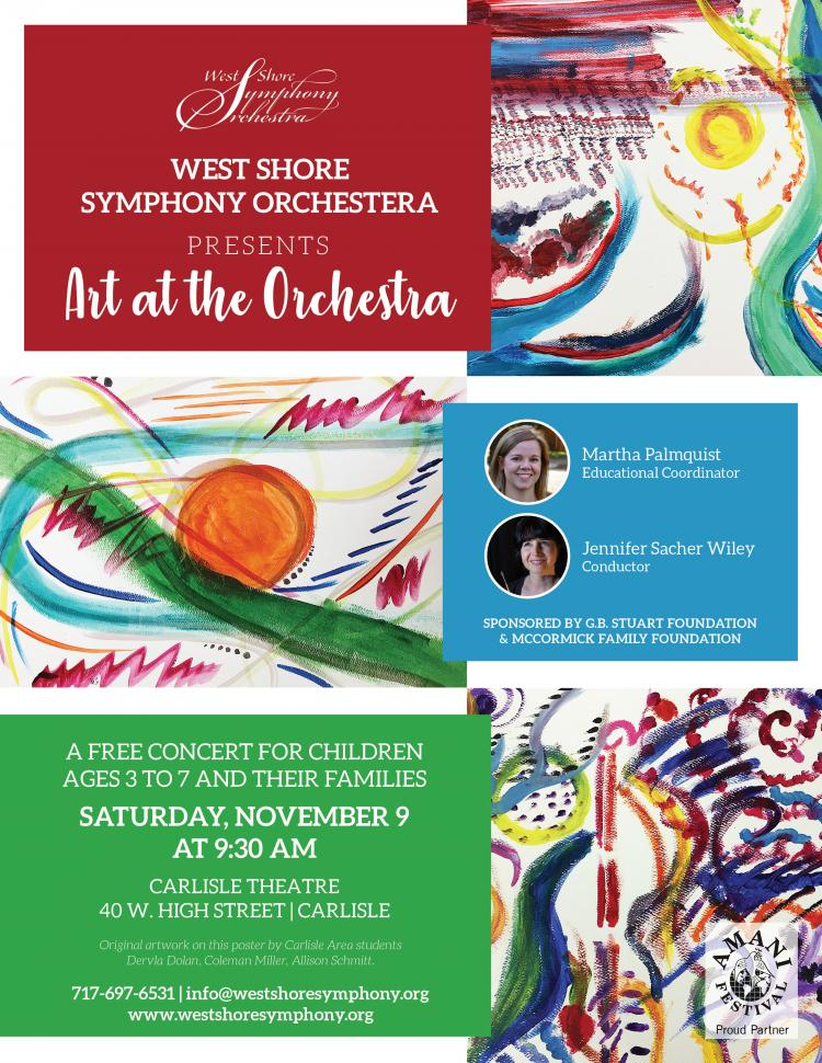 """Art at the Orchestra"" free family concert"