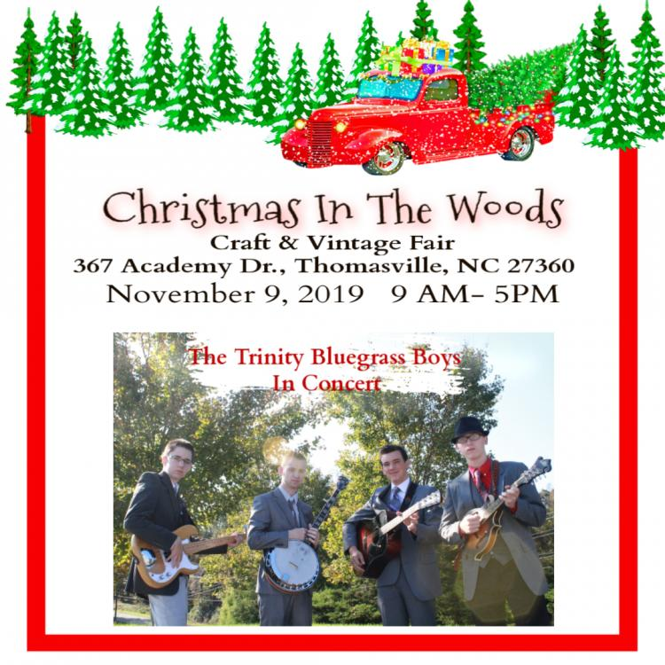 Christmas In The Woods: Craft & Vintage Market
