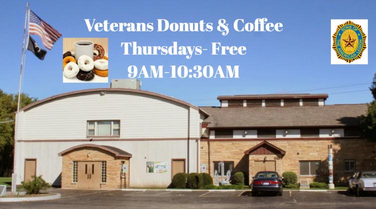 Veterans Donuts & Coffee Thursdays