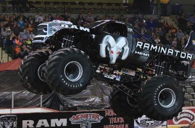 Magic City Chrysler Dodge Jeep Ram Lets Monster Truck on the loose in Covington,