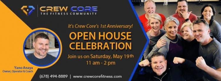 1st Anniversary Open House Celebration at Crew Core Fitness
