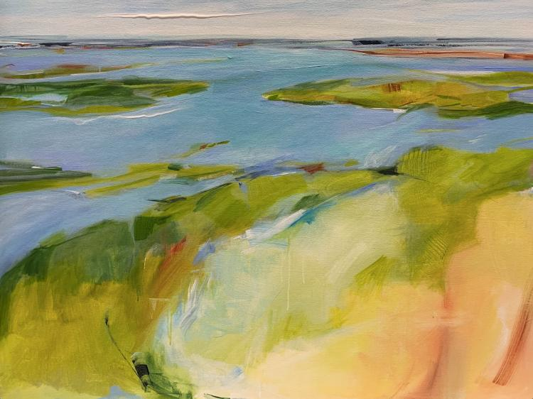 Coastal Expressions Exhibition by Joyce Grasso