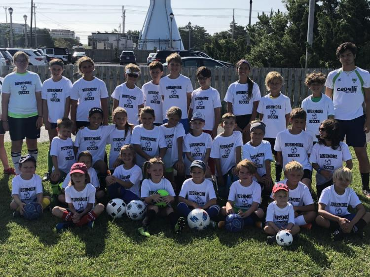 Rushmore Soccer Camp