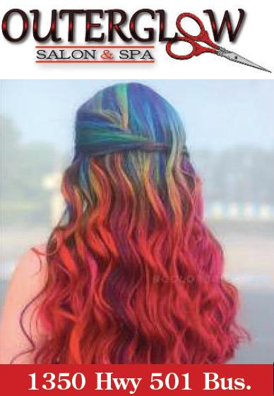 20% OFF Color Services every Tuesday at OuterGlow Salon & Spa in Conway