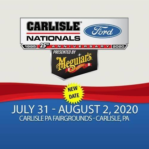 RESCHEDULED: Carlisle Ford Nationals