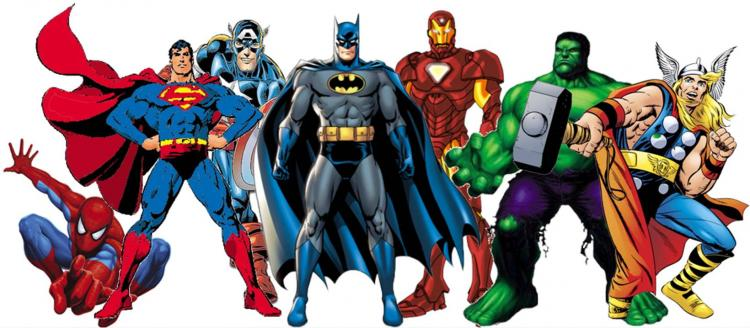 The History of Superheros (Lake Bluff Public Library)