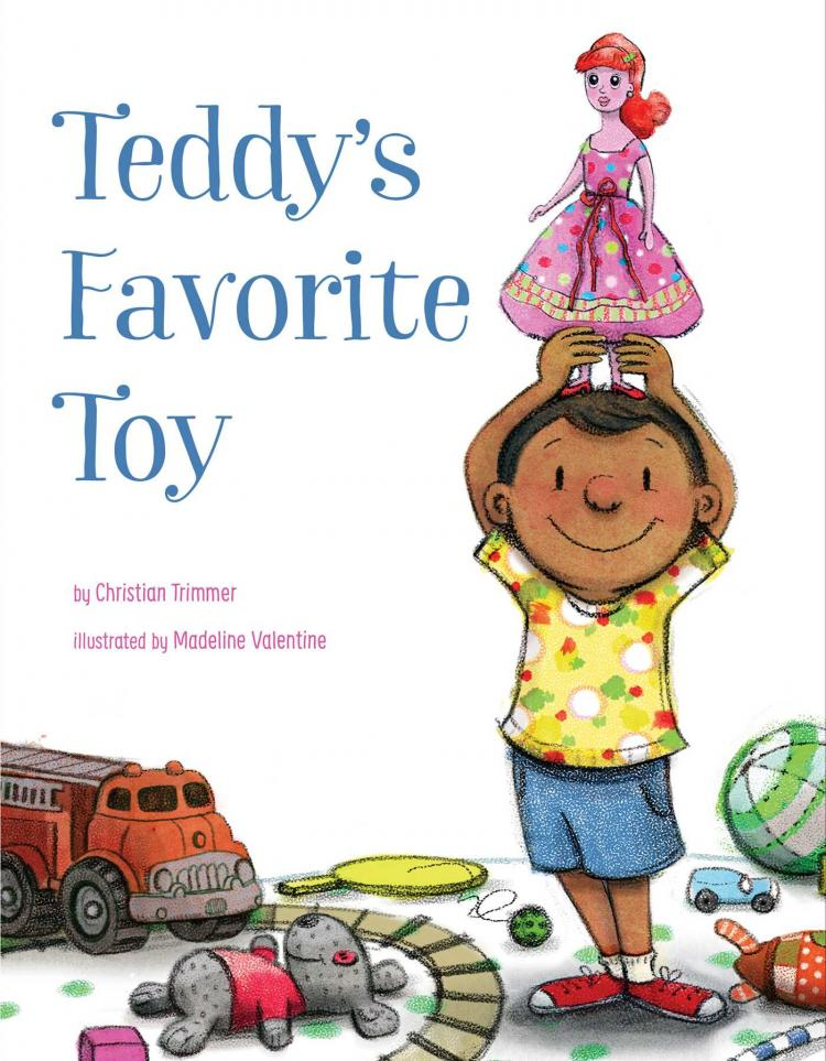 Theater Program: Teddy's Favorite Toy (Lake Bluff Public Library)