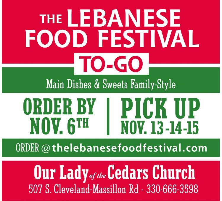 Lebanese Food Festival To-Go
