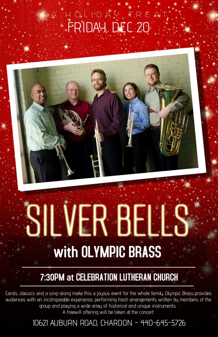 Silver Bells Holiday Concert with Olympic Brass