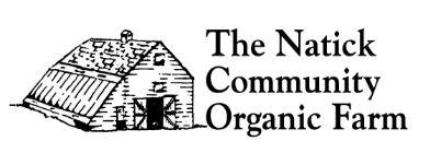 Reserve tickets now!  Harvest Dinner - Natick Community Organic Farm