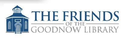 Friends of the Goodnow Library Membership Drive