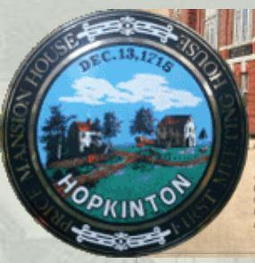 RESCHEDULED TO JUNE 29th - Annual Town Election - Hopkinton