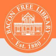 Cocoa & Cookies - Bacon Free Library