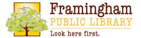 What's New @ Framingham Public Library Online!