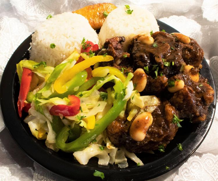 $7.99 Sr. Special Daily inc. Drink Main Street Jamaican Rest. Conway