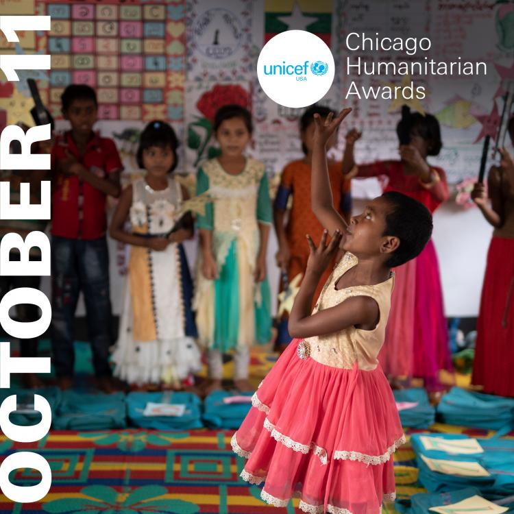 UNICEF CHICAGO HUMANITARIAN AWARDS HONORS  LOCAL LEADERS CONTRIBUTING TO  THE IM