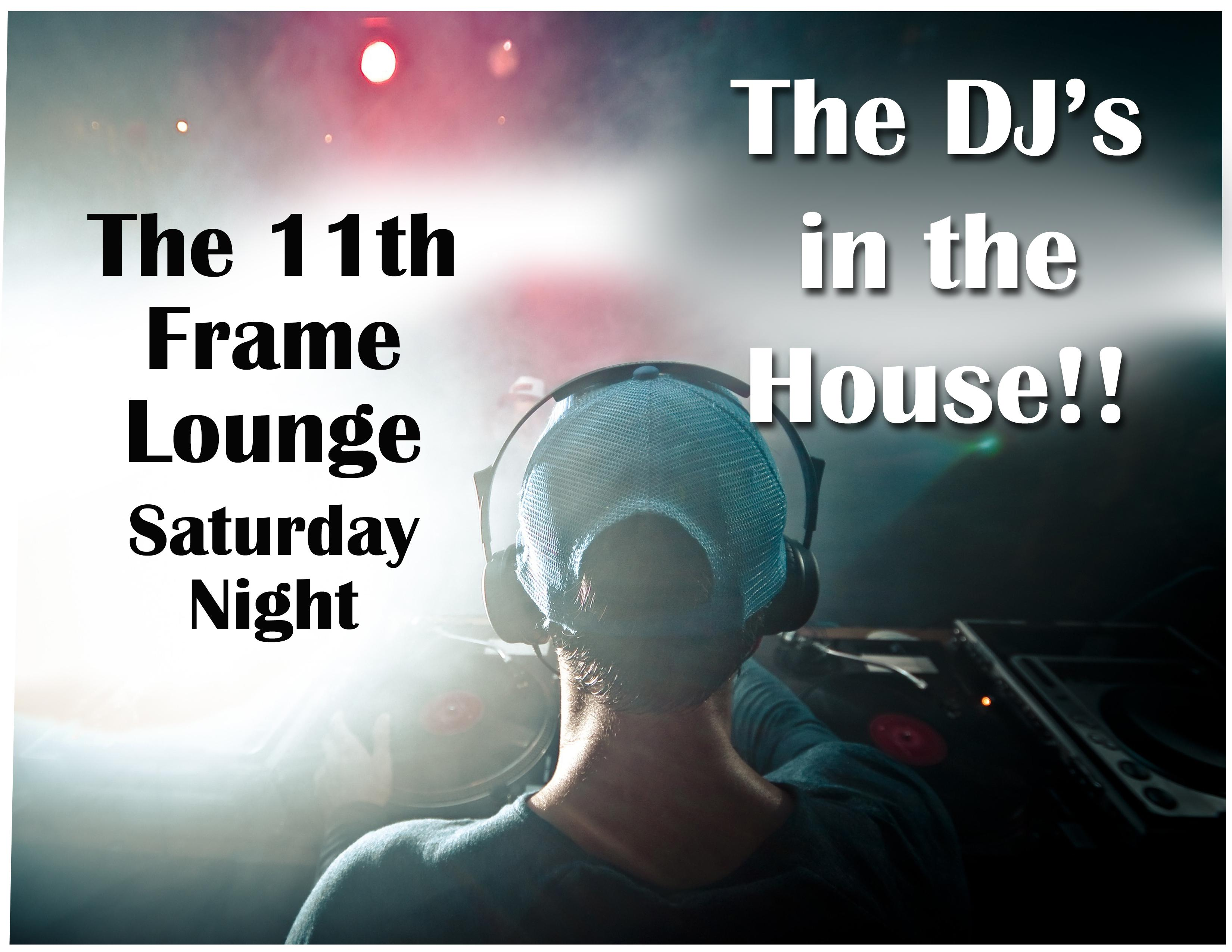 Our own DJ – Live in The 11th Frame Lounge
