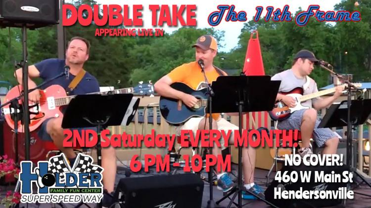 Double Take Takes the stage 2nd Saturday of the month