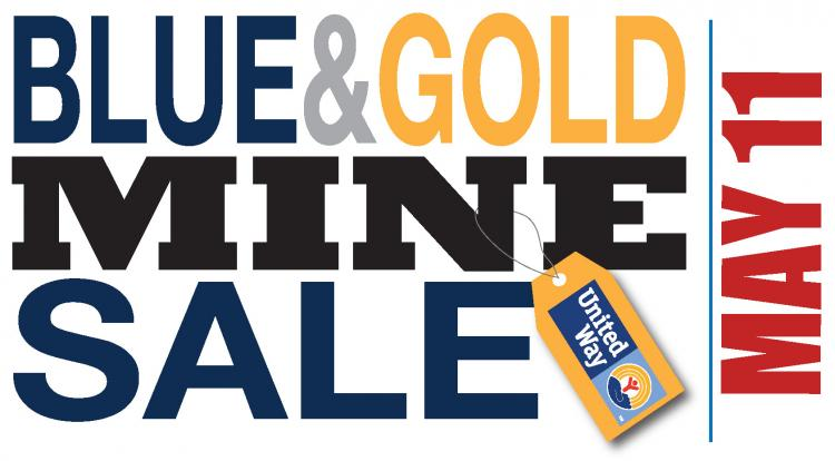 15th Annual Blue and Gold Mine Sale