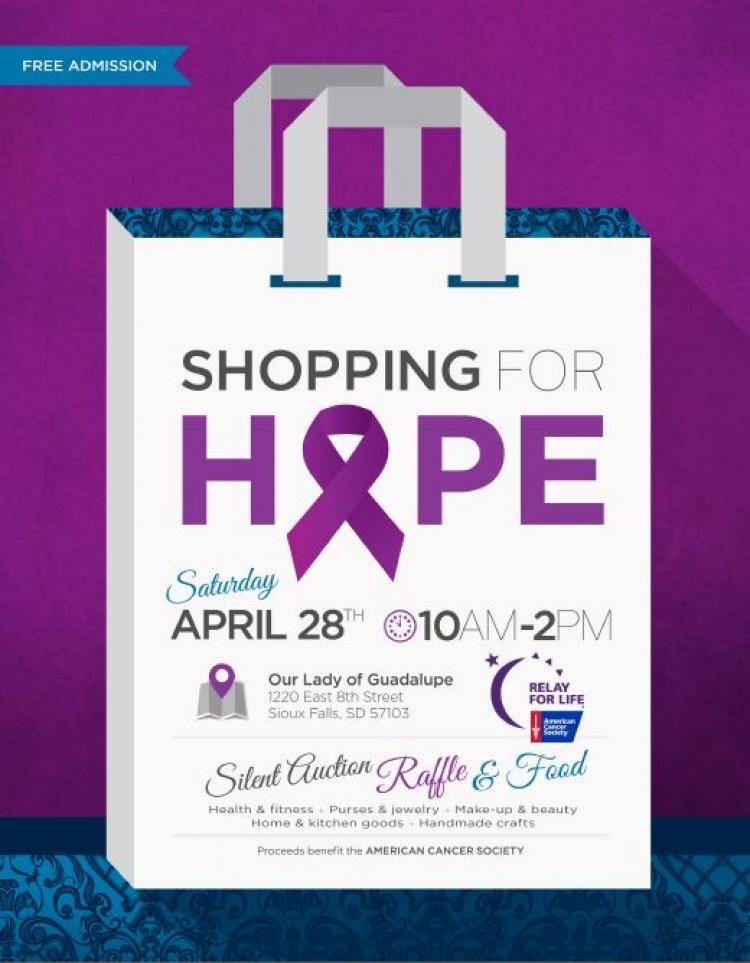 5th Annual Shopping For Hope Event
