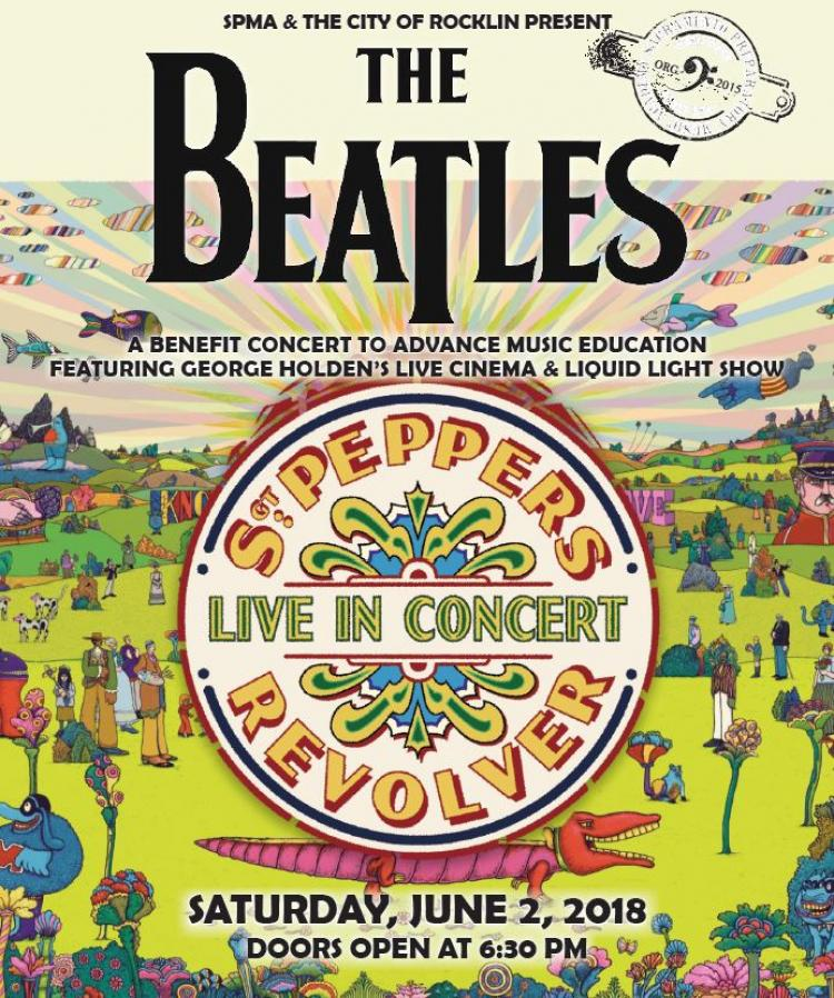 The Beatles Sgt. Pepper's Lonely Hearts Club Band & Revolver, LIVE in Concert