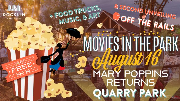 Movies in the Park- Mary Poppins Returns