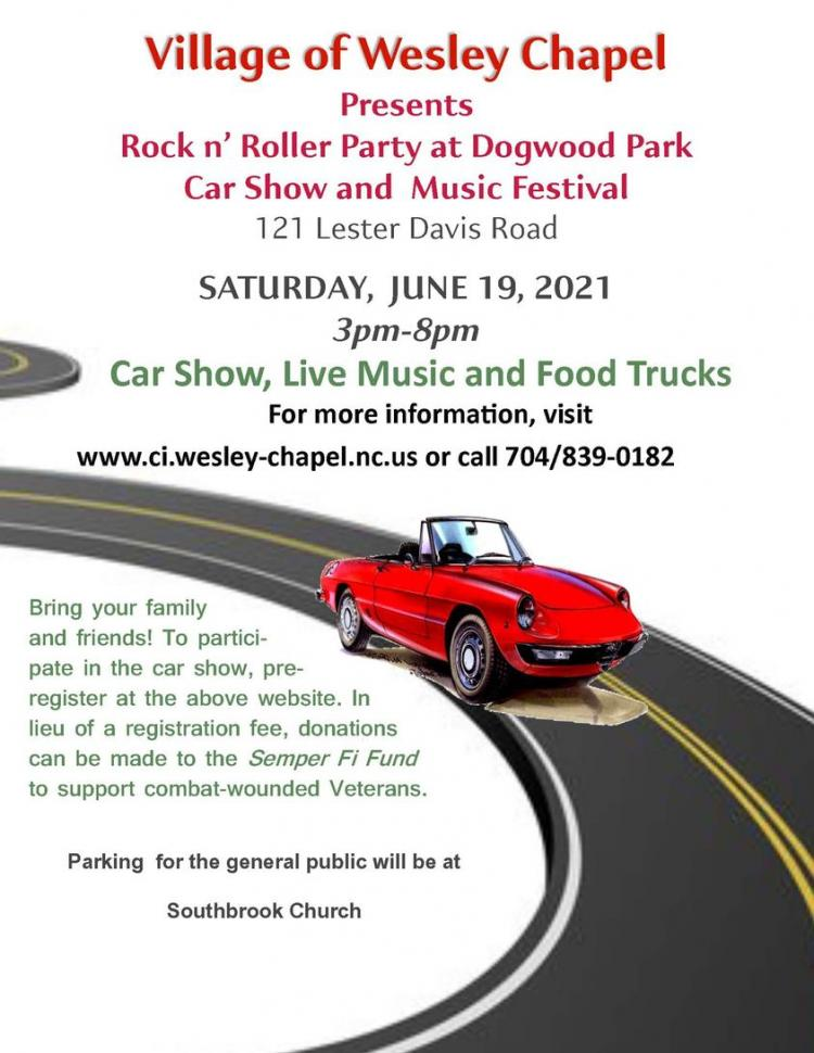 Rock N Roller Car Show and Music Festival