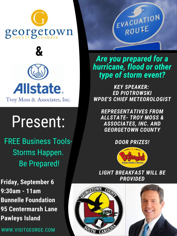 Business Tools - Storms Happen. Be Prepared!