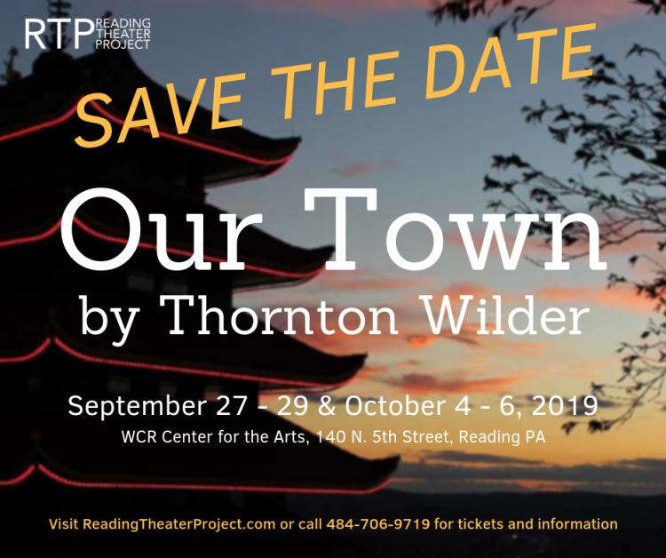 Reading Theater Project's Our Town by Thornton Wilder