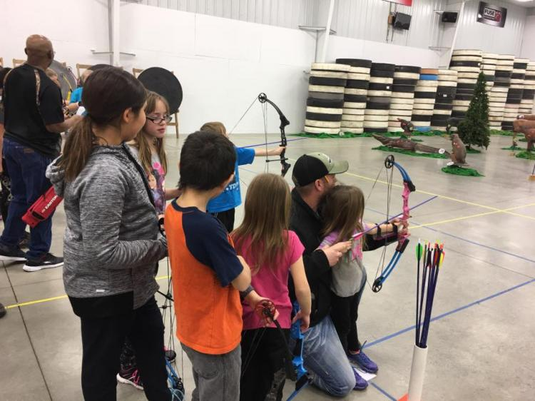 NFAA Family Fun Day at the Archery Center