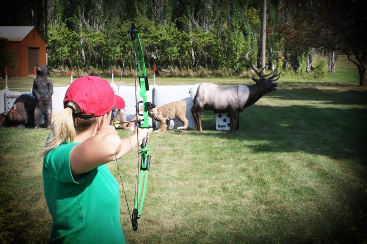 NFAA Ladies Explore Bow Hunting Class