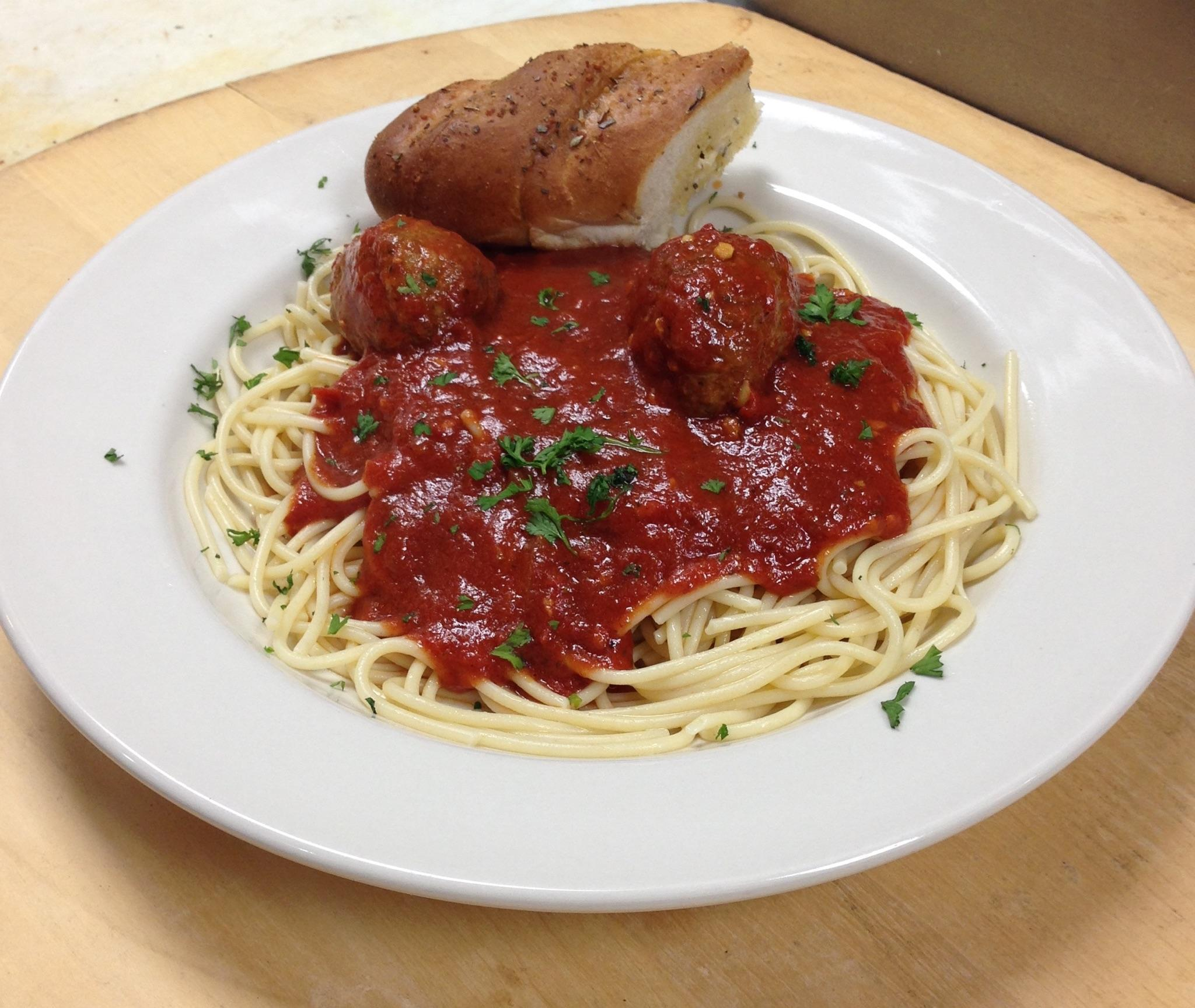 Chris' Pizza Pub SPAGHETTI SPECIAL $9.50 EVERY SUNDAY - ALL DAY