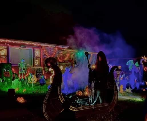 Decorated Halloween Home & Walk Through in Portage (3350 Oakwood St)