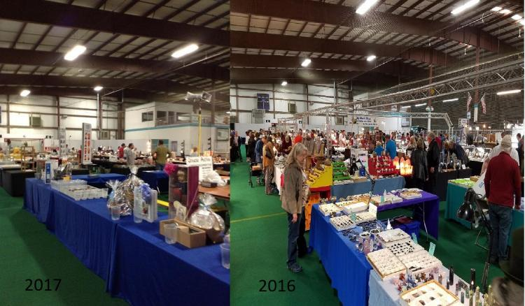 The 50th ANNUAL ROCKaRAMA JEWELRY, GEM, CRYSTAL, FOSSIL  & MINERAL SHOW
