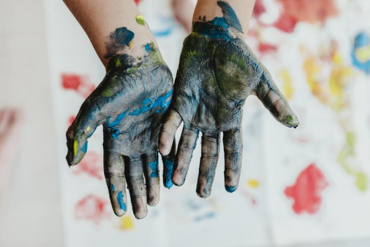 Ooey, Gooey, Messy Art Camp. Ages 6-12