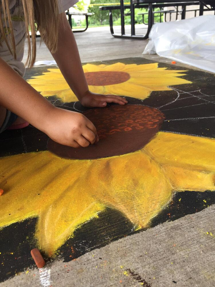 Summer Camp - Chalk It Up! - Ages 12 - 16 - with Katie Walters