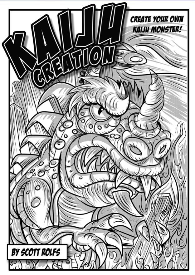 Summer Camp - Kaiju Creation - Ages 7-14 - with Scott Rolfs