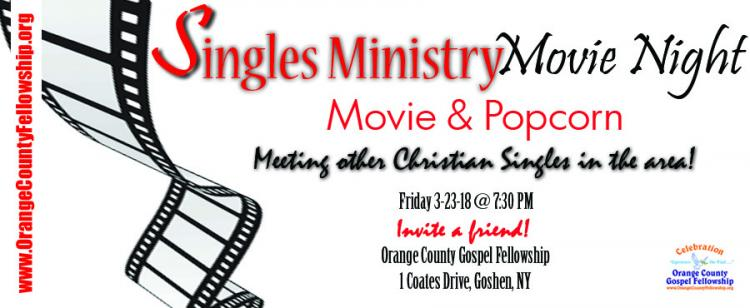 Singles Ministry Movie Night and Popcorn