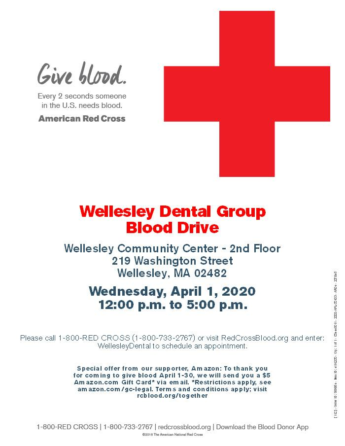 Wellesley Community Blood Drive