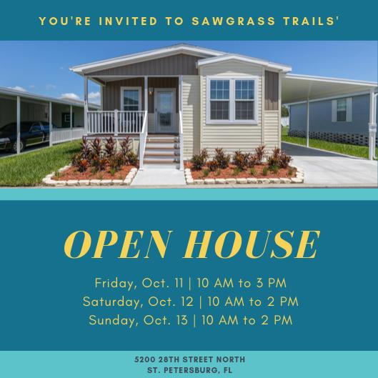 Sawgrass Trails Hosts Open House Event