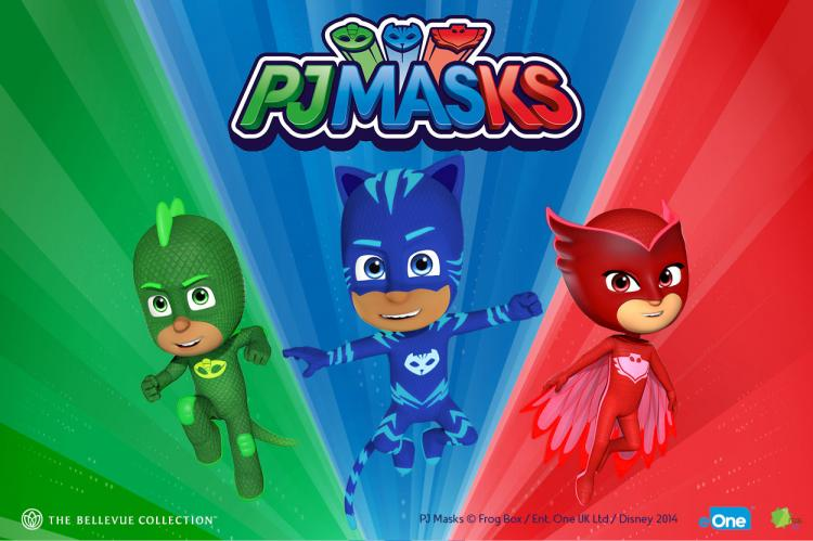 COME MEET THE PJ MASKS AND JOIN THE CELEBRATION AT BELLEVUE SQUARE