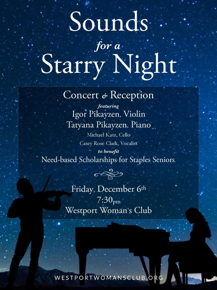 Sounds for a Starry Night Concert and Reception, December 6, 2019