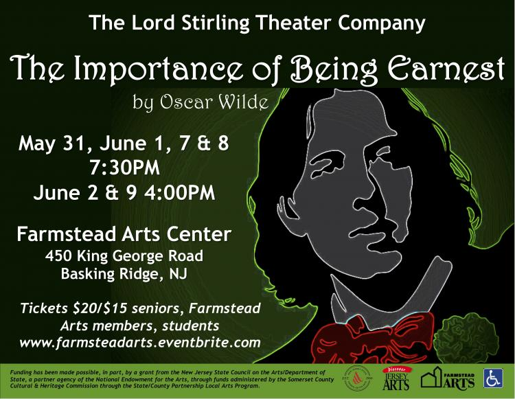 The Importance of Being Earnest at Farmstead Arts Center in Basking Ridge