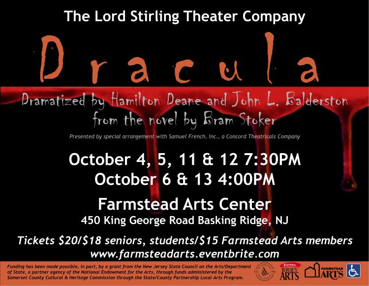 Dracula at Farmstead Arts Center